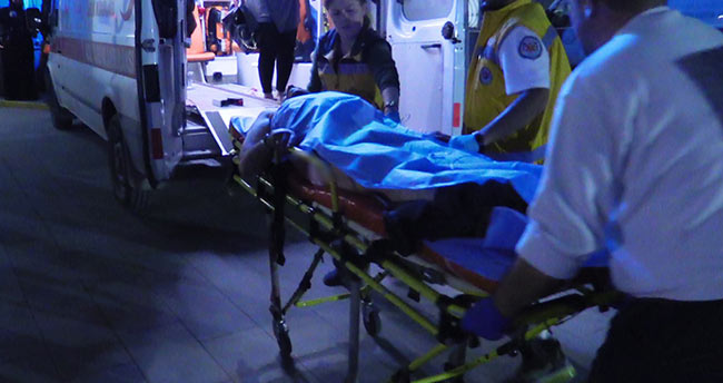Konya'da karı kocaya evinde bıçaklı saldırı