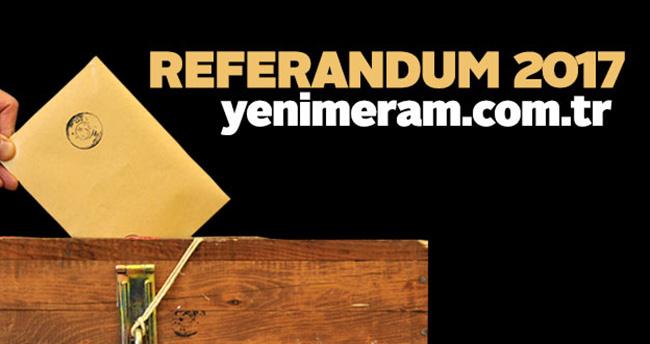 Konya'nın Akören ilçesinde sayım işlemleri tamamlandı