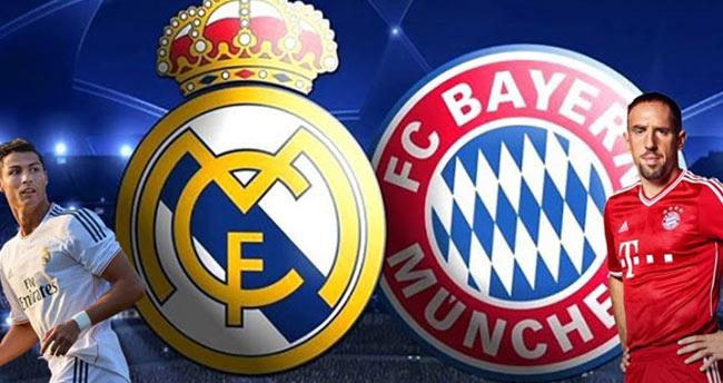 Real Madrid-Bayern Munih hangi kanalda saat kaçta?