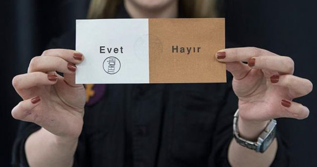 Referandum sonuçlarında 'Evet' oyunun en yüksek çıktığı 10 il