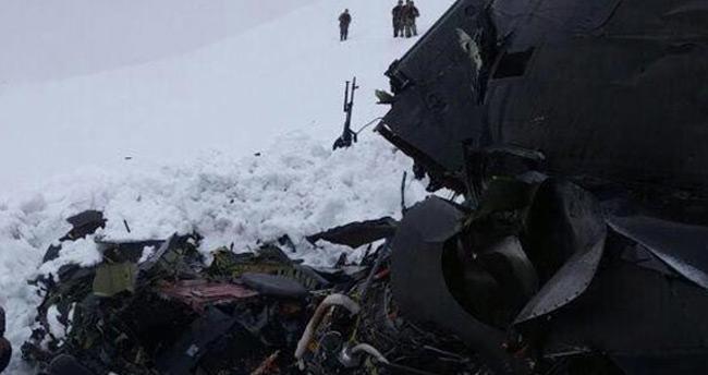 Tunceli'de helikopterde bulunanların isimleri belli oldu