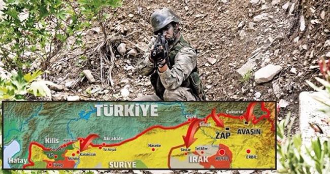 Türkiye'den çok kritik sınır ötesi operasyonu