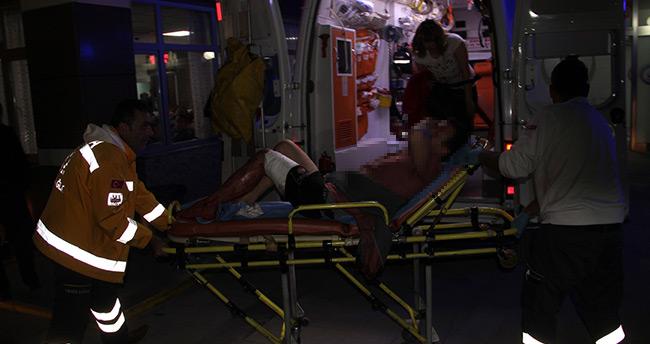 Konya'da kavga! – Eski nişanlısının erkek arkadaşını bıçakladı