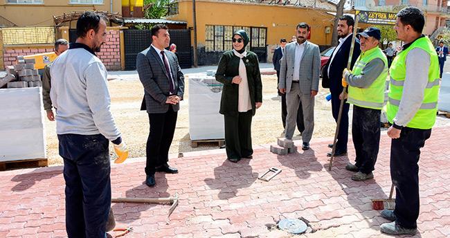 Meram'da cadde düzenlemeleri