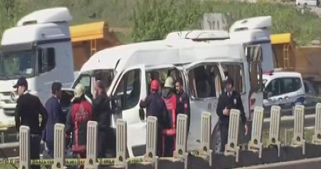 Sondakika! – İstanbul'da minibüste patlama