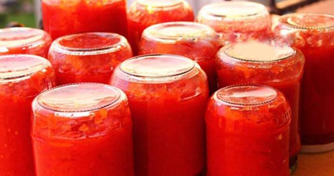 Uzmanlardan domates konservesi uyarısı