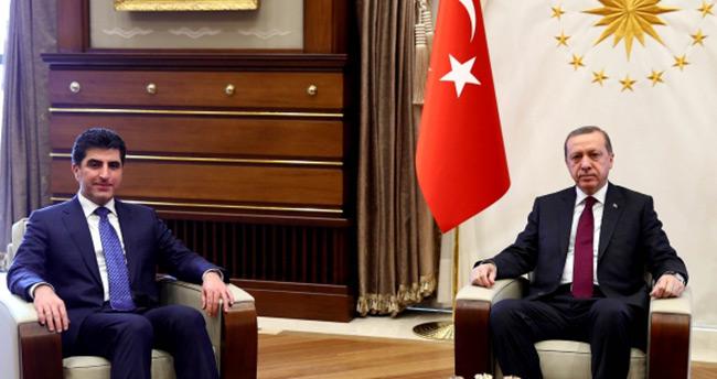 Barzani Cumhurbaşkanı Erdoğan'la görüşecek
