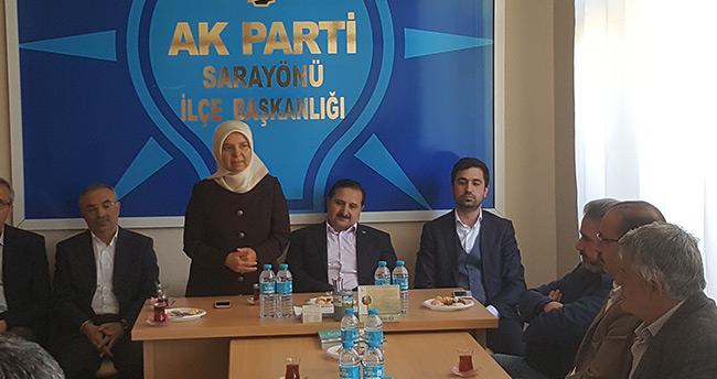 AK Partili Milletvekillerden ilçelere teşekkür ziyaretleri