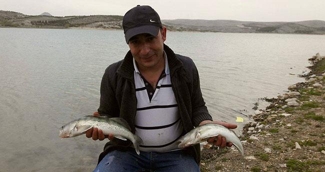 Beyşehir'deki amatör olta balıkçıları için mesai zamanı
