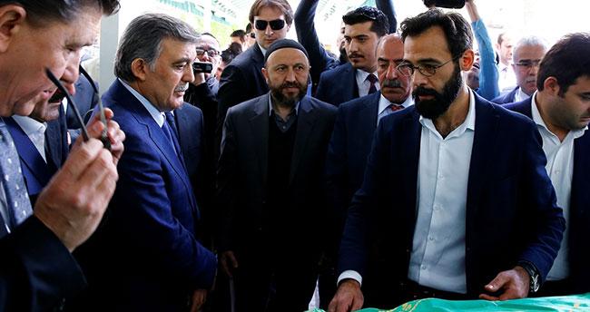 Abdullah Gül'ün acı günü! Cenazeye Erdoğan da katıldı