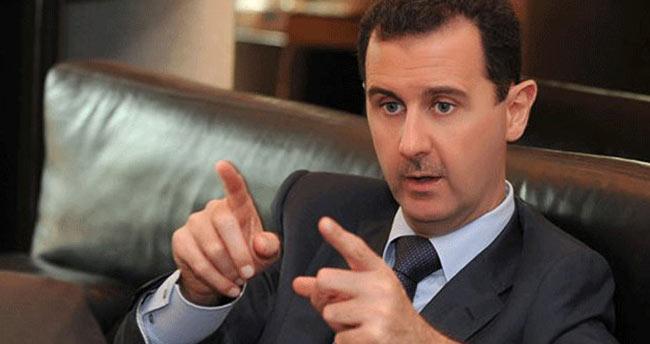 Beşar Esad tarih verdi! İstifa edeceğim