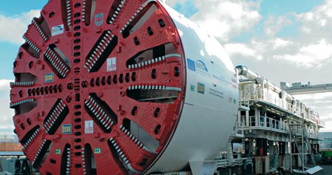 Türkiye 'tünel açma makinesi' yapabilen 8. ülke oldu