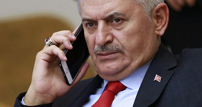 Başbakan Yıldırım'dan İbrahim Erkal'ın eşine taziye telefonu