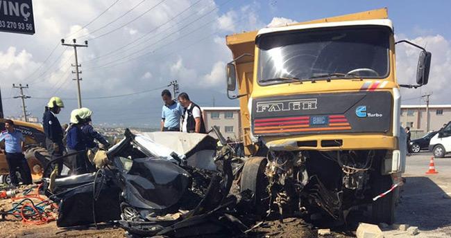 Başsavcı Alper'in hayatını kaybettiği kaza ile ilgili kamyon sahibi gözaltına alındı