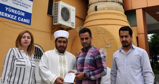 Camiye 10 bin lira bağış hapisten kurtardı