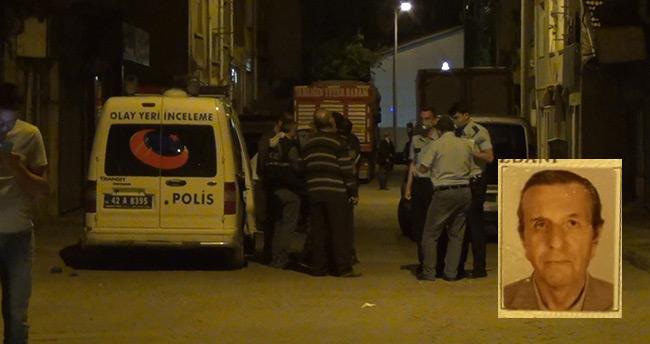 Konya'da emekli polis memuru evinin merdivenlerinde ölü bulundu