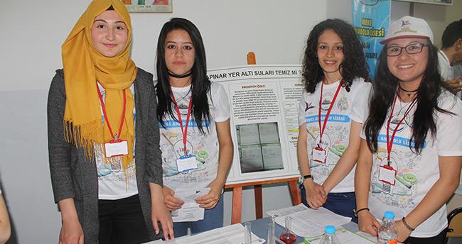 Karapınar'da 4006 TÜBİTAK Bilim Fuarı açıldı