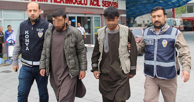 Konya'da rehin tutulan İranlı işadamı kurtarıldı