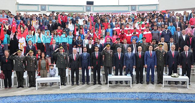 Konya'da 19 Mayıs çoşkusu