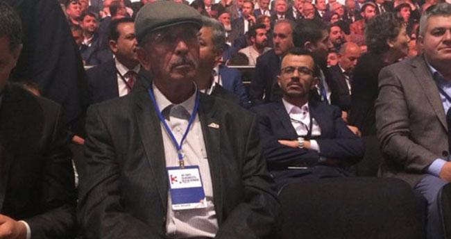 Şehit Ömer Halisdemir'in babası AK Parti kongresinde