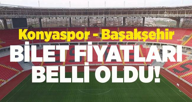 Konyaspor – Başakşehir final maçının bilet fiyatları belli oldu!