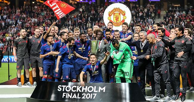 UEFA Avrupa Ligi Kupası Manchester United'ın