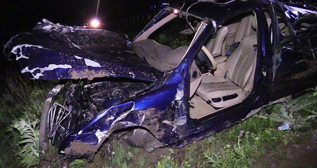 Konya'da günü birlik tatil dönüşü kaza: 2 ölü, 3 yaralı