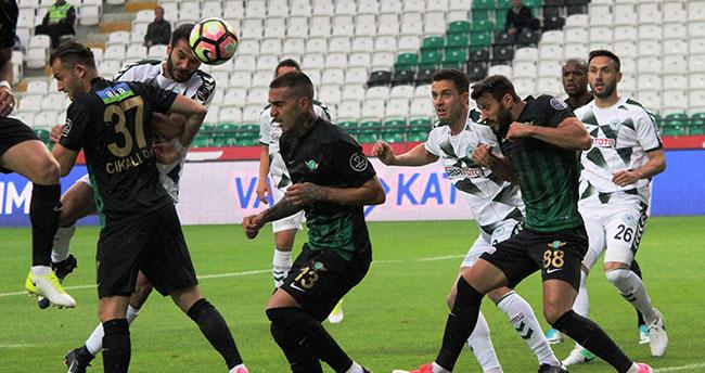 Atiker Konyaspor: 0 – Akhisar Belediyespor: 3
