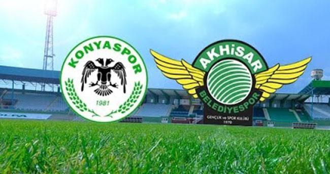 Atiker Konyaspor: 0 – Akhisar Belediyespor: 2 (İlk yarı)