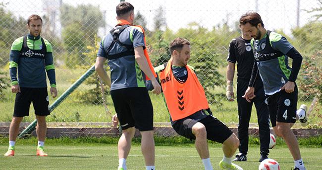 Konyaspor'da final hazırlıkları başladı