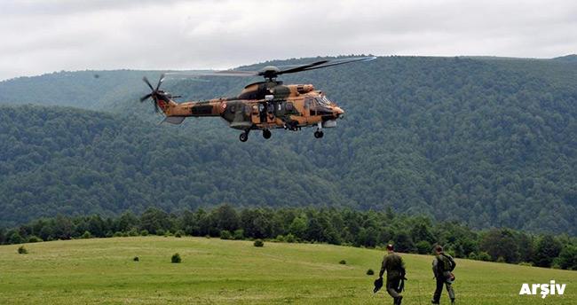 Şırnak'ta askeri helikopter düştü – 13 Şehit!
