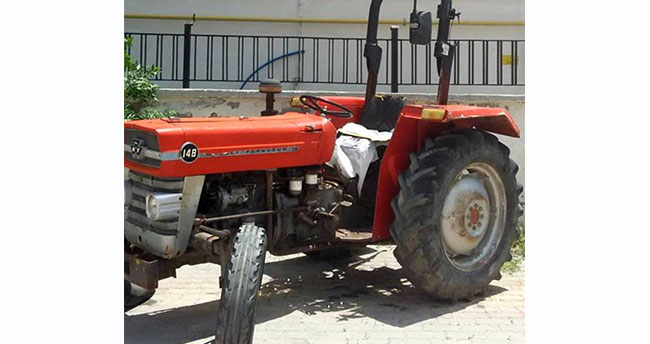 Seydişehir'de çalınan traktör Çumra'da bulundu