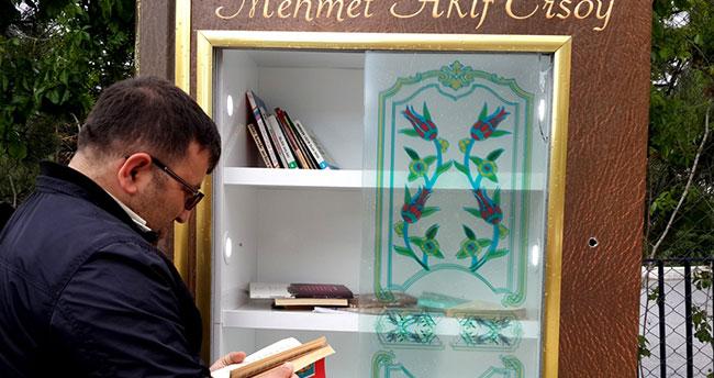 Seydişehir'de sokak kütüphaneleri açıldı