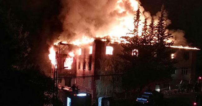 Aladağ yurt yangını davasında bir tahliye