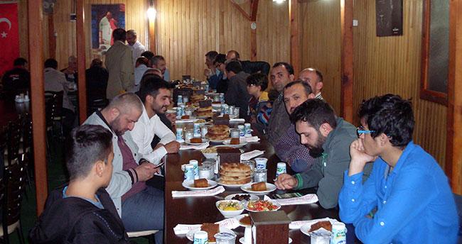 Konya'daki Trabzonlular iftarda buluştu