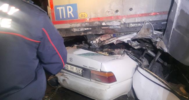 Aksaray – Konya yolunda feci kaza : 2 ölü