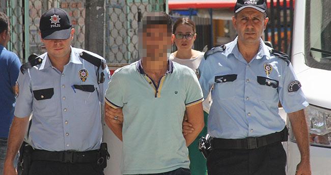 Adana'da sokak ortasında taciz