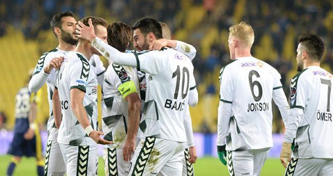 Konyaspor'da 2016-2017 sezon gol dağılımı