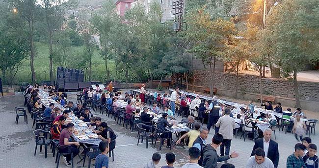 Konya'dan Hakkari ve Yüksekova'ya kardeşlik sofrası