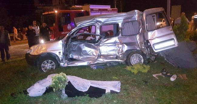 Samsun'da feci kaza: 5 ölü, 3 yaralı