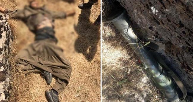 Şemdinli'de öldürülen teröristin üzerinden bakın ne çıktı…