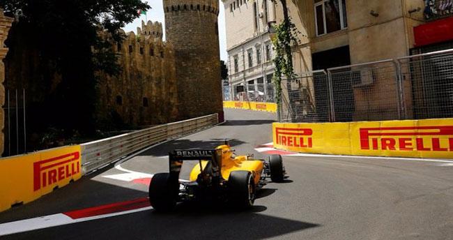 Bakü caddeleri Formula 1 pistine dönüştü
