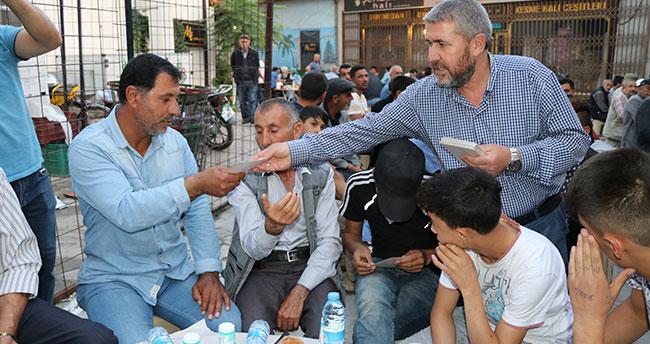 Konya'nın garipleri iftar sofrasında buluştu