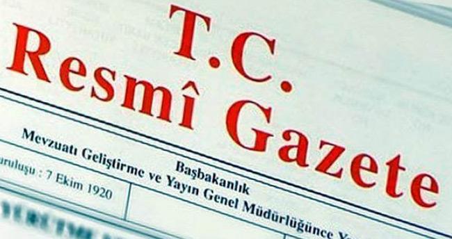 Vali atamalarına ilişkin kararname Resmi Gazete'de yayımlandı