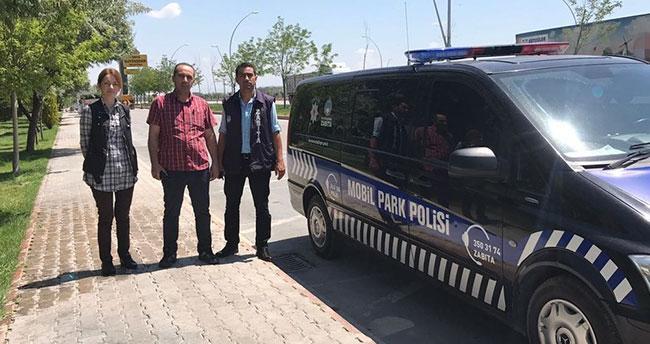 Konya'da Parklar 'Mobil Park Polisi'ne Emanet