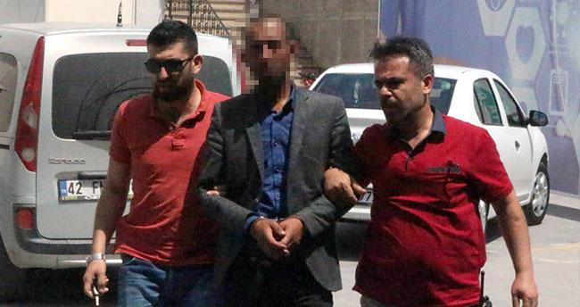 Konya'da 115 bin lira değerinde araç çalan şüpheli gezerken yakalandı
