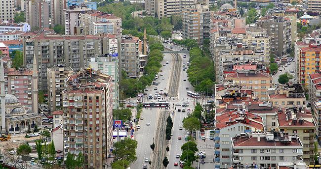 Konya'da Mayıs ayında 3 bine yakın konut satıldı