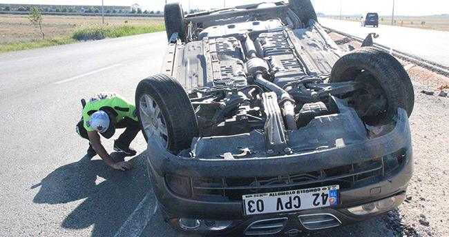 Konya'da korkutan kaza : 6 yaralı