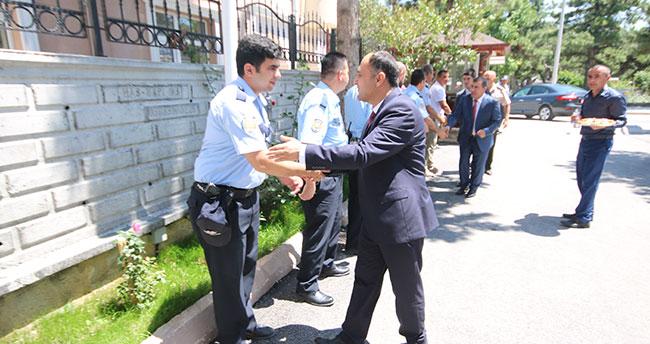 Beyşehir'de bayramlaşma programı düzenlendi
