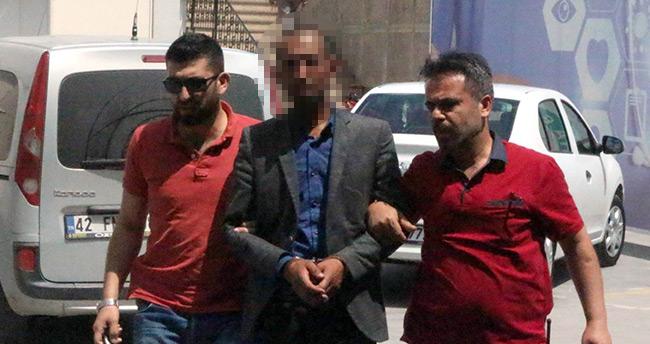 Konya'da basın açıklaması yapma meraklısı hırsız tutuklandı